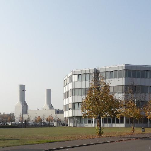 Betriebsgelände von Rolls-Royce im Ortsteil Dahlewitz